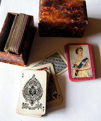 Boxed Waddington part pack of Coronation cards and another