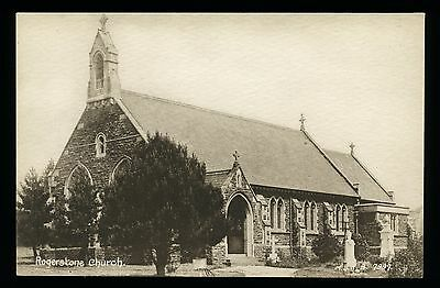ROGERSTONE Church - NEWPORT - Monmouthshire - MINT CONDITION - Vintage Postcard