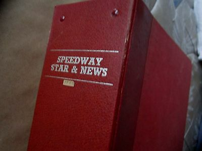 Speedway Star & News Magazine in Offical Binder January 5th - December 28th 1963