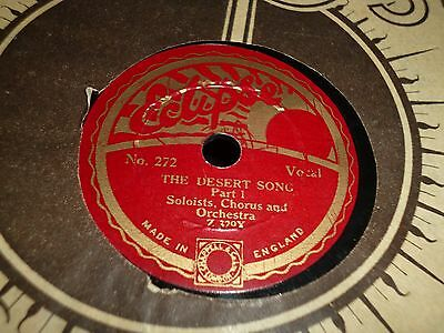 """Collection of 7x ECLIPSE 8"""" 78RPM Gramophone Records 69/63"""