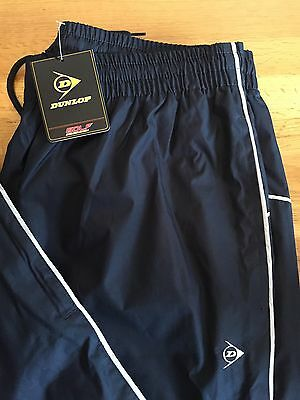 Mens DUNLOP GOLF WATER RESISTANT TROUSERS NEW size Large With Elasticated Waist