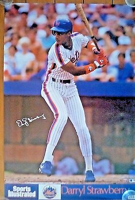 Vintage Darryl Strawberry/New York Mets Sports Illustrated Poster