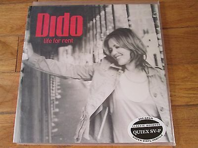 DIDO life for rent Vinyl, LP, Album, Remastered, 200gram Quiex SV-P unplayed n/m