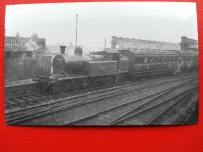 Photo  Dún Laoghaire Mallin Railway Station Loco No 455 8/3/52