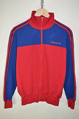 vtg 70s ADIDAS ORIGINAL CASUALS RETRO TRACK JACKET TRACKSUIT TOP SIZE D7 LARGE