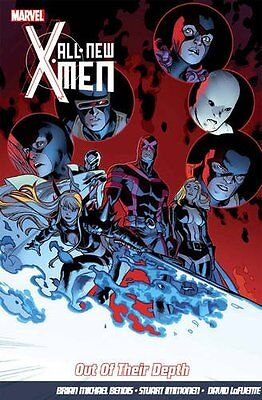 Marvel Comics All New X-Men vol 3 Out of their depths hardcover trade