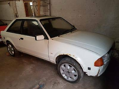 Ford Escort Mk3 XR3i             Project