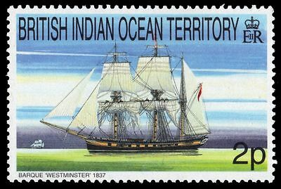 """BR INDIAN OCEAN 207 (SG224) - Sailing Ships """"Barque Westminster"""" (pa74146)"""