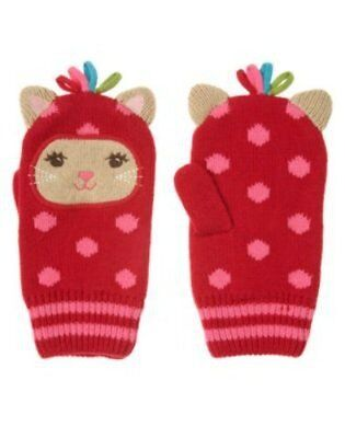 UD1 Gymboree Winter Cheer Girls Mittens NEW NWT 8 & Up Critter