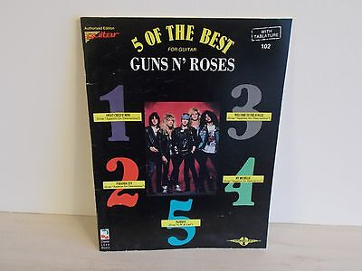 Guns 'n' Roses Guitar tab book