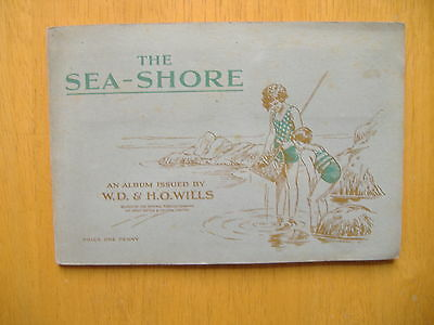 AN ALBUM OF THE SEA SHORE Complete Wills 1938