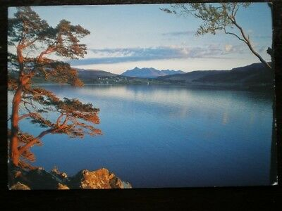 Postcard Islands The Cullins From Portree Isle Of Skye