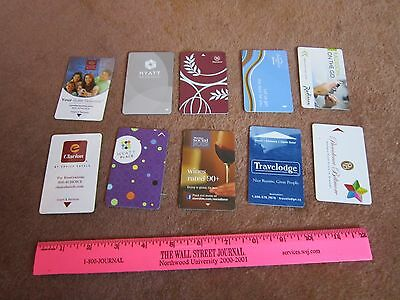 Hotel Key Card LOT Hyatt, Sheraton, Fairfield ,Radisson, Travelodge, Biltmore