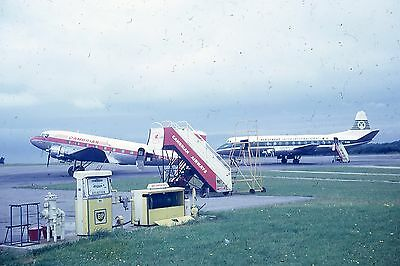 Airliner Slide Cambrian DC3 Aer Lingus Viscount