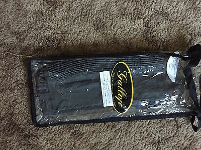 Half Chaps Leather Brown Medium new