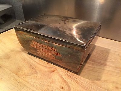 1905 Silver Plated Trophy Trinket Box