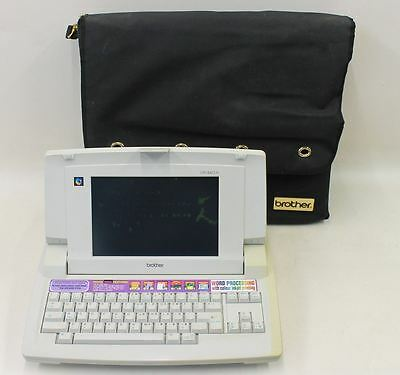 BROTHER LW-840IC Vintage Colour Inkjet Word Processor Electric Typewriter