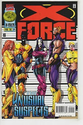 X-Force 54 Marvel 1996