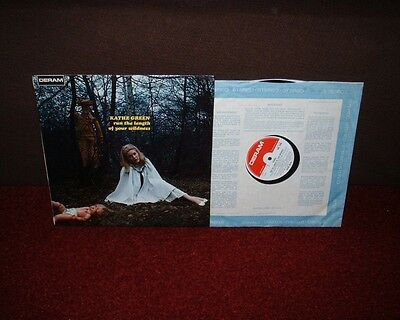 KATHE GREEN Length Of Your Wildness LP 1969 DERAM 1st Press! BRILLIANT EXAMPLE!!