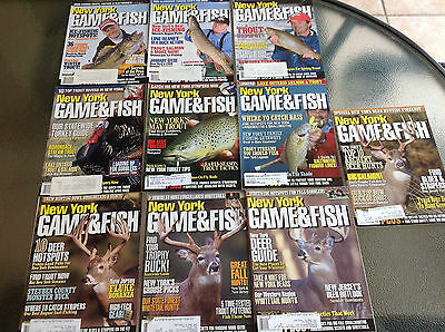 New York Game & Fish Magazines Hunting Fishing Several Years Available