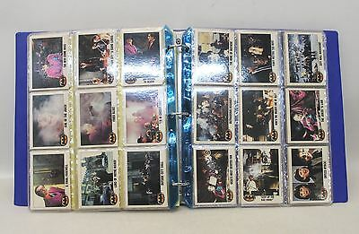 BATMAN! 1988 First Movie Collector's Trading Card Set In Album With Screenplay