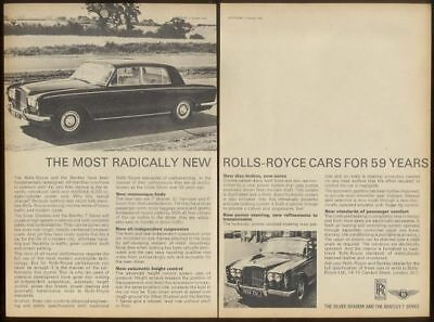 1965 Rolls-Royce Silver Shadow Bentley T photo UK ad