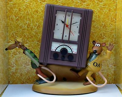 Wallace & Gromit Fans - Chicken Run Talking Radio Alarm NEW, original Box !c: