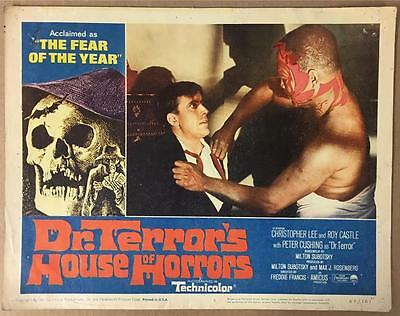 Roy Castle & Voodoo man Dr.Terror's House of Horrors 1965 #3 lobby card 1141