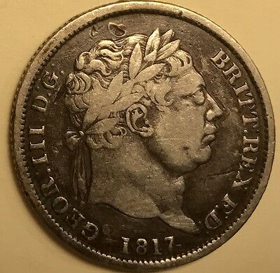 Great Britain - George III - Shilling - 1817 - Very Fine