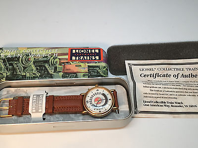 Lionel Legendary Trains Collectible Train Watch Movement TRAIN MOVES