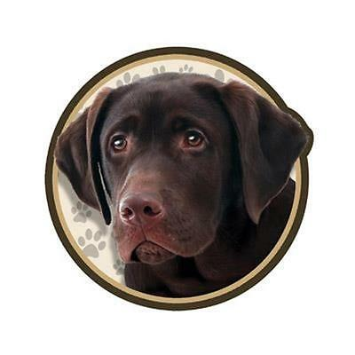 "Chocolate Labrador Retriever Dog 3"" Tumbler Decal Lab Yeti RTIC Ozark Trails"