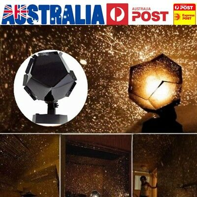 Star Sky Projector Night Light Bulb Lamp Romantic Cosmos Astro Galaxy Gift