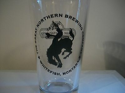 Great Northern Brewing Company-Whitefish Montana.- Beer Glass