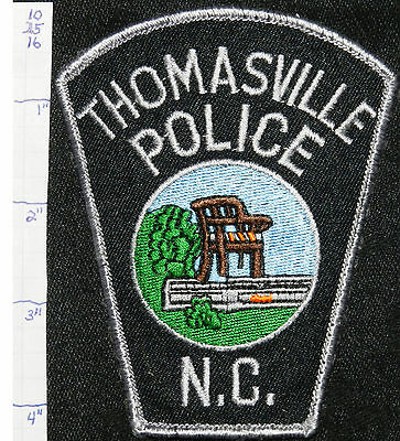 North Carolina, Thomasville Police Dept Patch