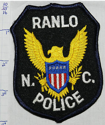 North Carolina, Ranlo Police Dept Patch