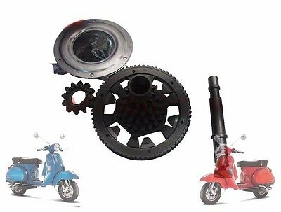 Vespa Cluster Primary Drive Gear Assembly Px Lml Stella Star Scooters @cad