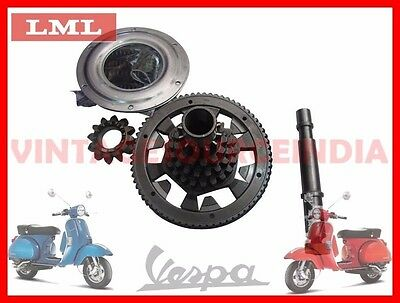 Vespa Px Px 200 Cluster Gear Primary Drive Gear Assembly @cad