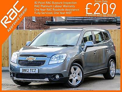 2012 Chevrolet Orlando 2.0 VCDI Turbo Diesel LTZ Executive 6 Speed 7-Seater MPV