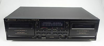 Pioneer Ct-W208R Stereo Double Cassette Deck +++