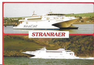 MV Seacat Scotland at Stranraer