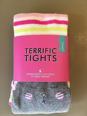 Joules Girls Tights (size 7-8 years)