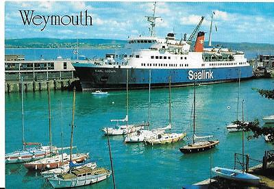 MV Earl Godwin at Weymouth