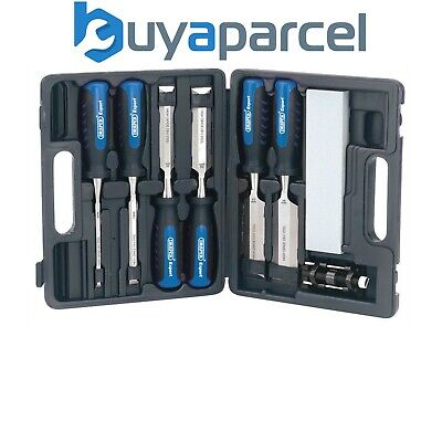 Draper 88605 Expert 8 Piece Wood Chisel Kit WCS8/SG