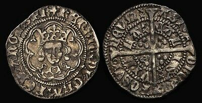 GREAT BRITAIN 1422-61 Henry VI 1st Reign ½ Groat S-1840