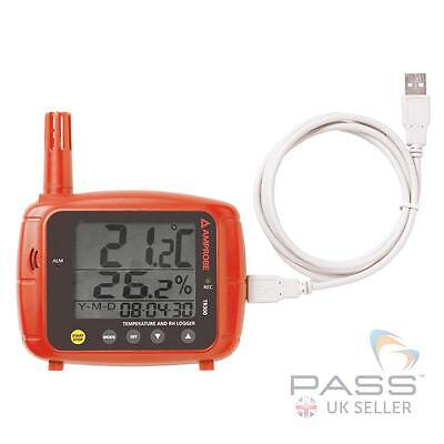 NEW Amprobe TR300 Indoor Temperature and Relative Humidity Data Logger