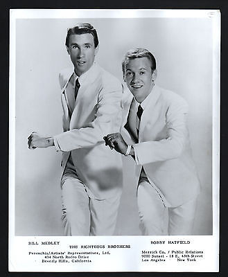 PRESS PHOTO, Bill Medley, Bobby Hatfield, Righteous Brothers, Pressefoto /118