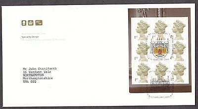 2000 Special By Design Booklet Pane On Fdc