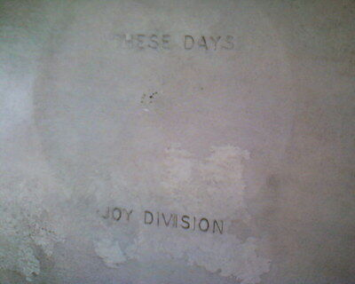 JOY DIVISION Early Rare 7 (Inch) Single NEW ORDER / MOD / NEW WAVE  Factory 23