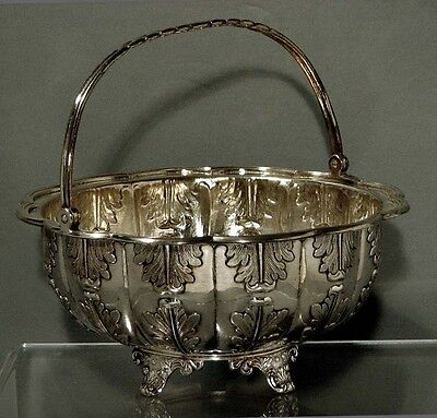 Chinese Export Silver Basket        c1840                  KHECHEONG
