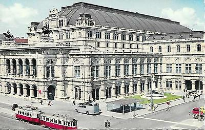 Vienna - State Opera House - Posted Postcard